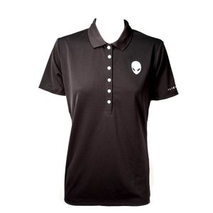 Women's Alienware Polo Shirt - Black - Size Medium-0