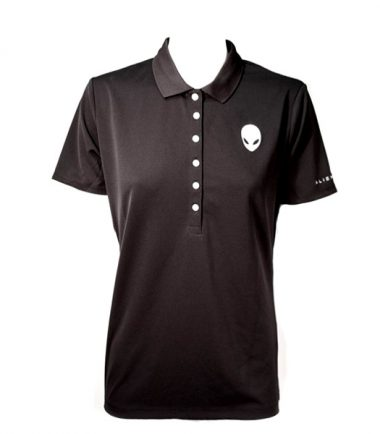 Women's Alienware Polo Shirt - Black-0