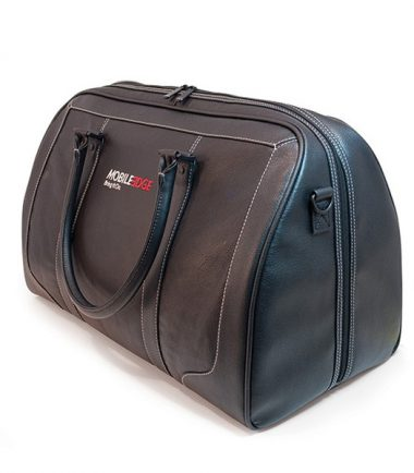 Deluxe Leather Duffel-21535