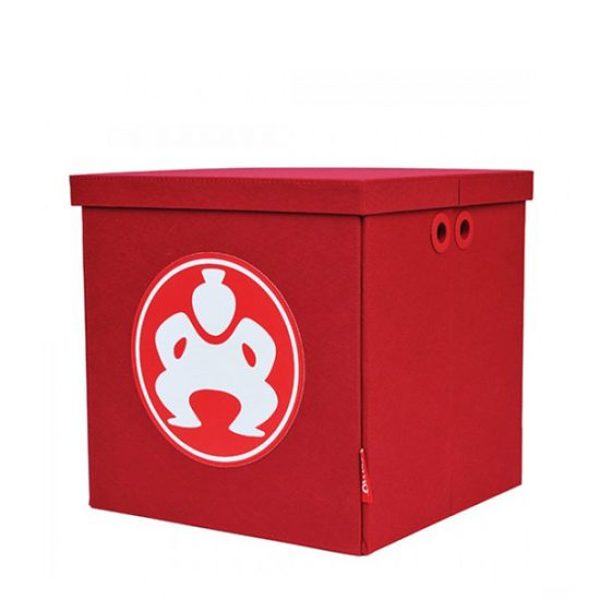 "Folding Furniture Cubes - 14"" Red-0"