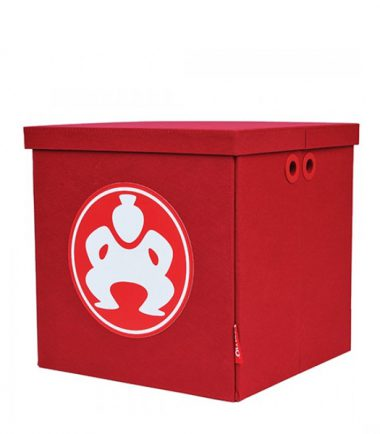 "Folding Furniture Cubes - 18"" Red-0"