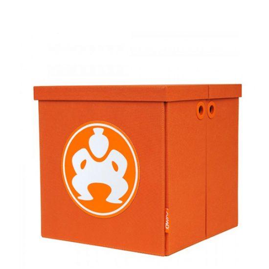 """Folding Furniture Cubes - 18"""" Orange-0"""