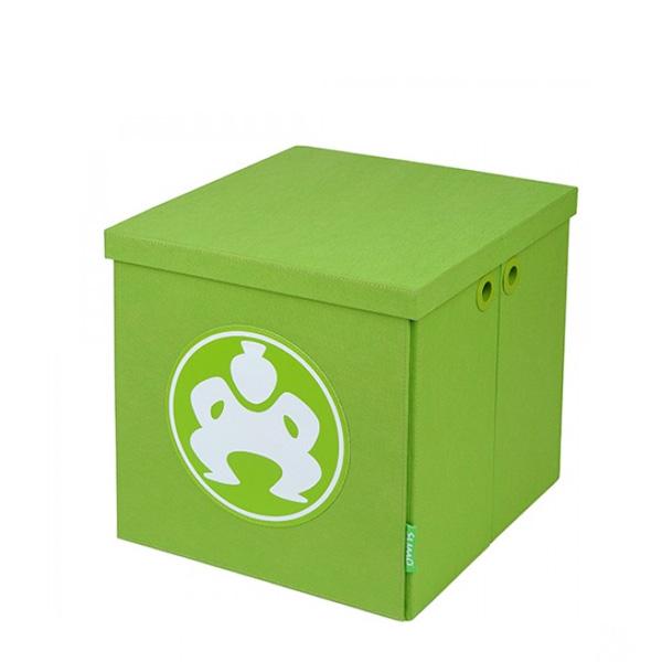 "Folding Furniture Cubes - 14"" Green-0"