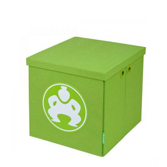 "Folding Furniture Cubes - 18"" Green-0"
