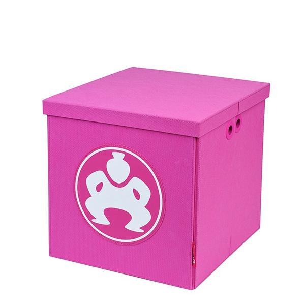 """Folding Furniture Cubes - 14"""" Pink-0"""