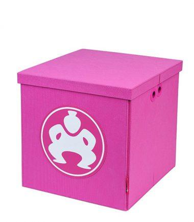 """Folding Furniture Cubes - 18"""" Pink-0"""