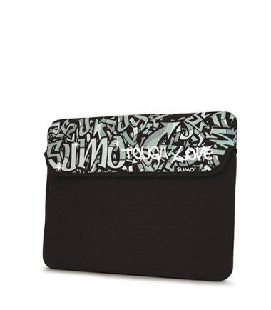 Sumo Graffiti Tablet/Ultrabook Sleeve - 10 inch - Black