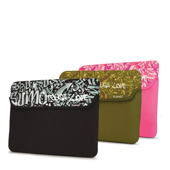 Sumo Graffiti Tablet/Ultrabook Sleeve - 10 inch