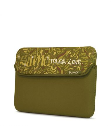 Sumo Graffiti Tablet/Ultrabook Sleeve - 10 inch - Green