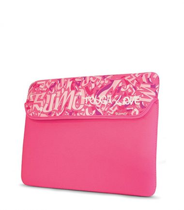 Sumo Graffiti Tablet/Ultrabook Sleeve - 10 inch - Pink