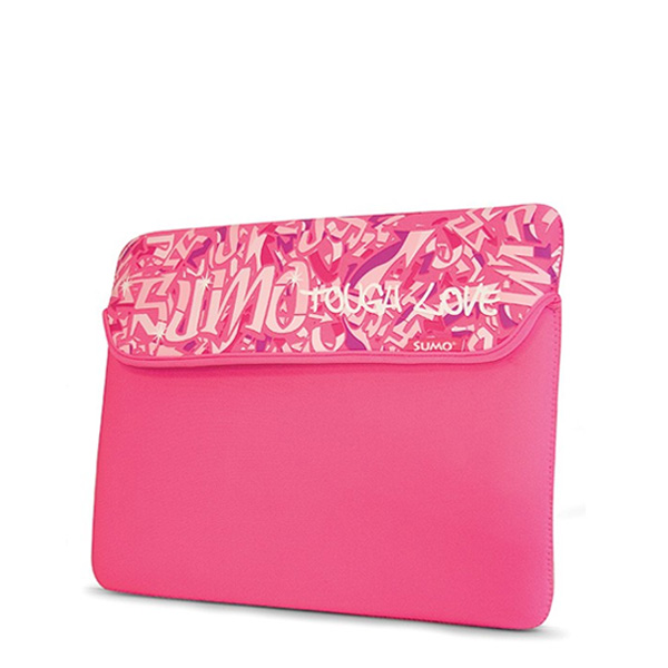"Sumo Graffiti Sleeve - 13"" Pink-0"