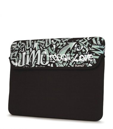 Sumo Graffiti Sleeve - 15 inch (Laptop Bag) - Black