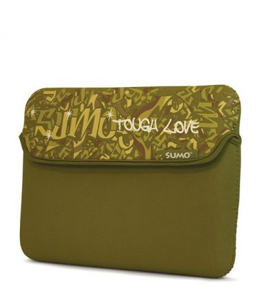 Sumo Graffiti Sleeve - 15 inch (Laptop Bag) - Green