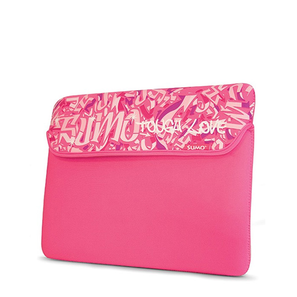 "Sumo Graffiti Sleeve - 15"" Pink-0"