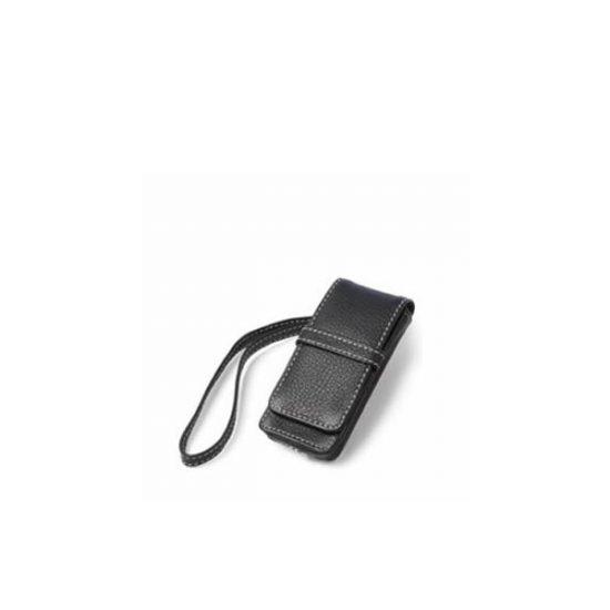 iPod Nano Leather Flip Case - Black-0