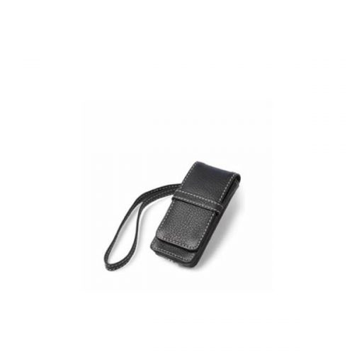 iPod Nano Leather Flip Case - Black-0