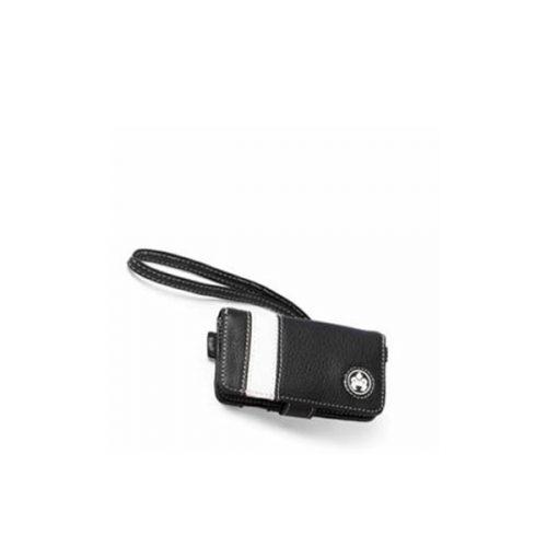 iPod Nano Leather Stripe Case - Black-0