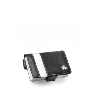iPod 5G Leather Case - Striped - Black-0
