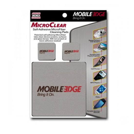 MicroClear Laptop, Mobile/Cell Phone, iPod Screen Cleaning Pads (3 Pack) - Wipe screen clean