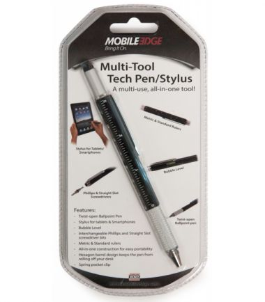 Multi-Tool Tech Pen/Stylus (Black)-20960