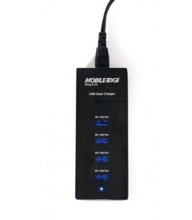 Universal 4-Port 6A USB Desktop Smart Charger with Reversible USB Ports-20974