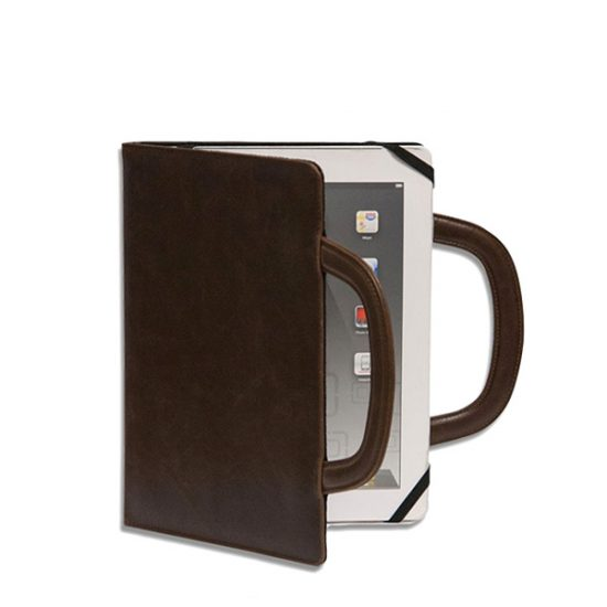 Deluxe iPad Folio (Brown)-0