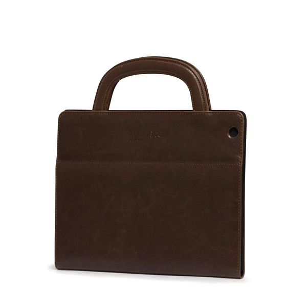 Deluxe iPad Folio (Brown)-0