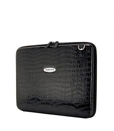 Portfolio - Black Faux-Croc-22930