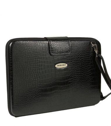 Portfolio - Black Faux-Croc-22931