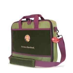 Maddie Powers Retro Laptop Briefcase / Clutch