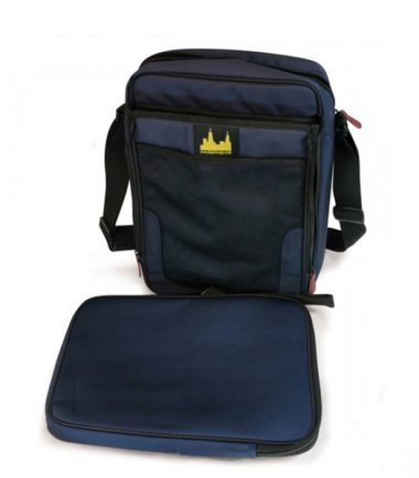Maddie Powers Stadium Laptop Bag - Removable, padded laptop protection sleeve