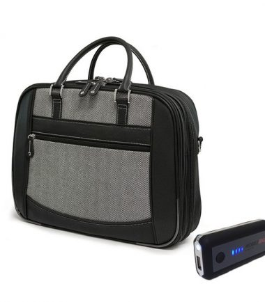 ScanFast Herringbone Element Briefcase plus USB Power Pack-0