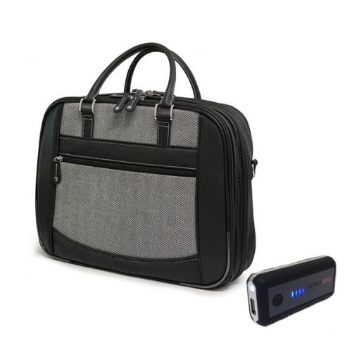 ScanFast Herringbone Element Briefcase plus USB Power Pack-0
