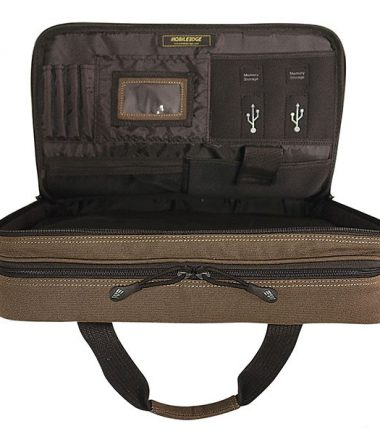 Eco-Friendly Briefcase (Black)-21899