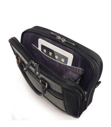 ScanFast Herringbone Element Briefcase plus USB Power Pack-21868