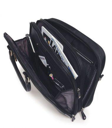 ScanFast Herringbone Element Briefcase plus USB Power Pack-21863