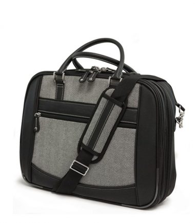 ScanFast Herringbone Element Briefcase plus USB Power Pack-21872