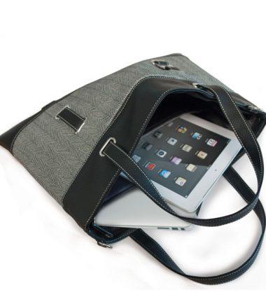 Herringbone Tablet / Chromebook / Ultrabook Totes-21976