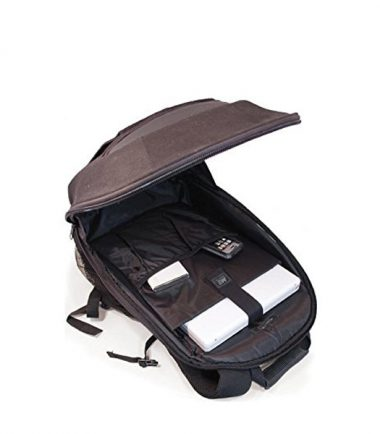 ECO Laptop Backpack (Eco-Friendly) 17.3 inch - Custom Molded Fasteners Keep Your Gear Secure