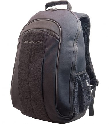 ECO Laptop Backpack (Eco-Friendly) 17.3 inch - Black - Side Pocket