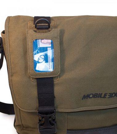 MECME9 - Eco-Friendly Laptop Messenger (Olive)