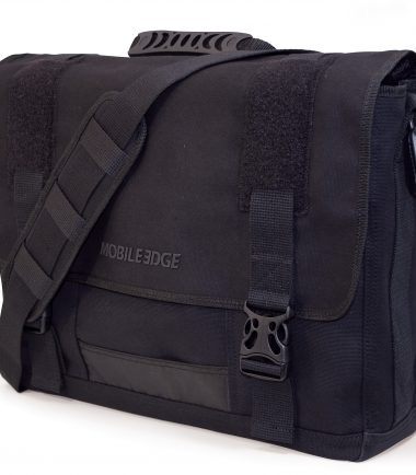 MECME1 - Eco-Friendly Laptop Messenger (Black)