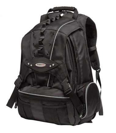 Premium Laptop Backpack - Silver Trim