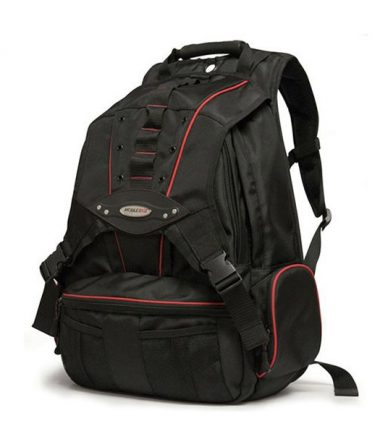 Premium Laptop Backpack - Red Trim