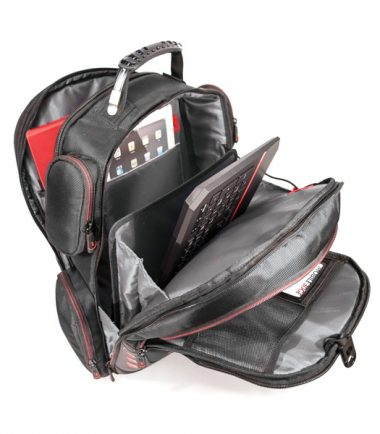 Core Gaming Backpack w/Molded Panel 17""