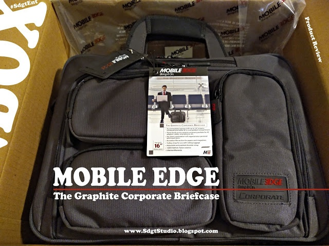 Mobile Edge Corporate Briefcase review