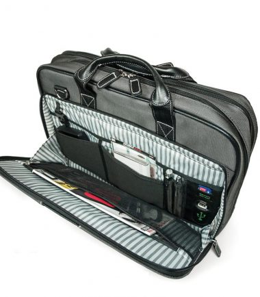 The Graphite Nylon Briefcase-22510