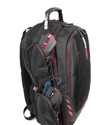 Core Gaming Backpack plus Large Gaming Mat, CORE Power AC USB - 27,000mAh Laptop Charger and Wireless Gaming Headset-22747