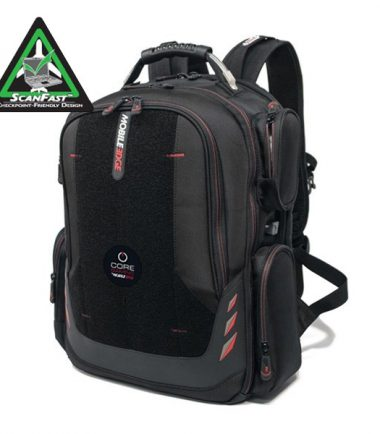 """Core Gaming Backpack w/Velcro Panel 16""""/17.3""""-0"""
