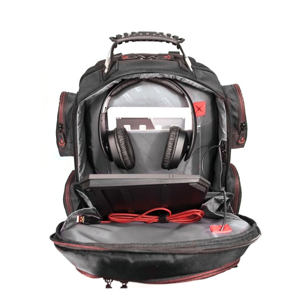 "Core Gaming Backpack w/Velcro Panel 17.3""-22870"